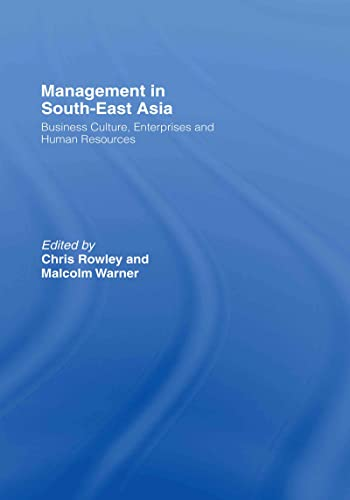 9780415383349: Management in South-East Asia: Business Culture, Enterprises and Human Resources