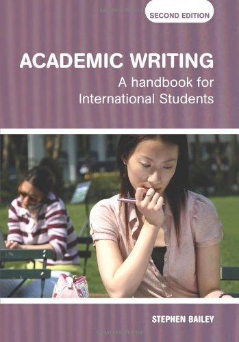9780415384193: Academic Writing: A Handbook for International Students