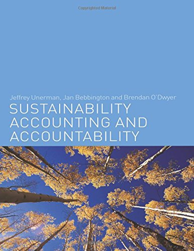9780415384896: Sustainability Accounting and Accountability
