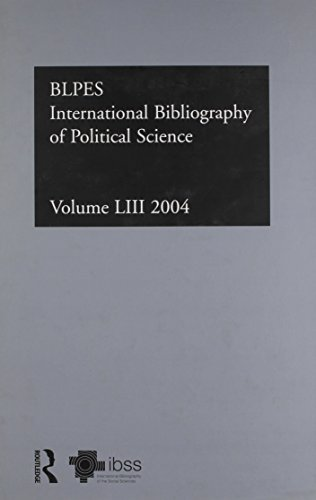 Ibss: Political Science: 2004 Vol.53: International Bibliography of the Social Sciences (Hardcover)...