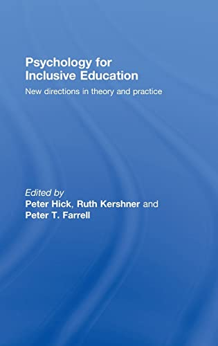 9780415390491: Psychology for Inclusive Education: New Directions in Theory and Practice