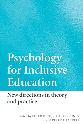9780415390507: Psychology for Inclusive Education: New Directions in Theory and Practice