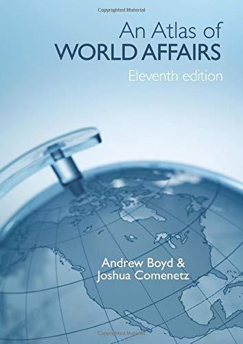 9780415391696: An Atlas of World Affairs