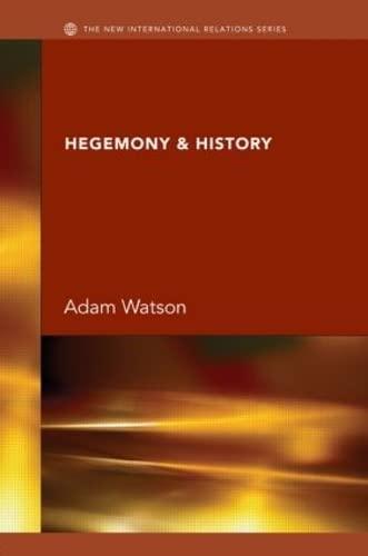 9780415393430: Hegemony & History