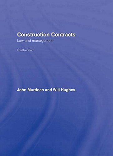 9780415393683: Construction Contracts: Law and Management