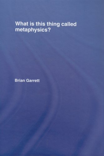9780415393911: What is this thing called Metaphysics?