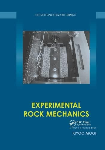 9780415394437: Experimental Rock Mechanics (Geomechanics Research Series)