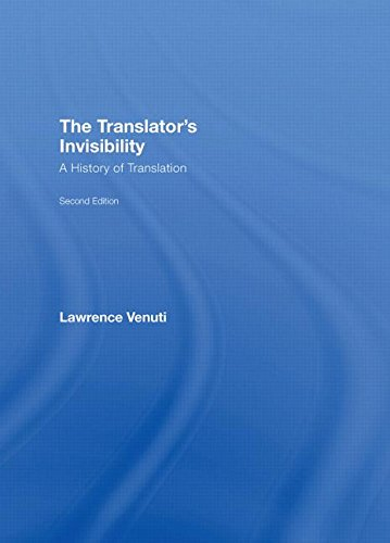 9780415394536: The Translator's Invisibility: A History of Translation