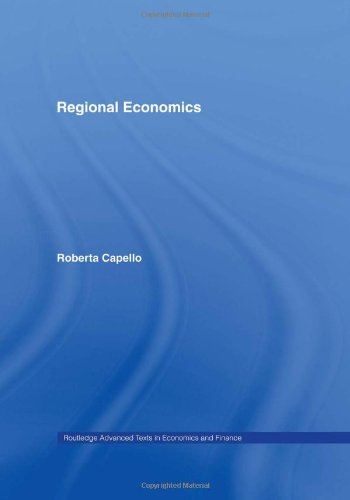 9780415395205: Regional Economics (Routledge Advanced Texts in Economics and Finance)