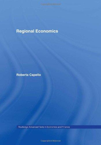 9780415395205: Regional Economics