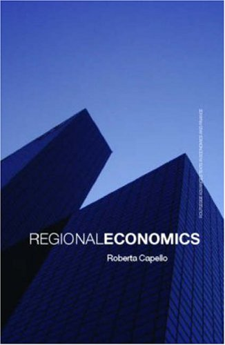 9780415395212: Regional Economics (Routledge Advanced Texts in Economics and Finance)
