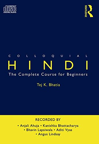 9780415395281: Colloquial Hindi: The Complete Course for Beginners (Colloquial Series)