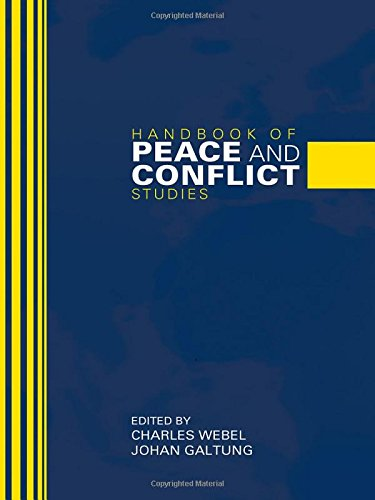 9780415396653: Handbook of Peace and Conflict Studies (Weber in Translation)