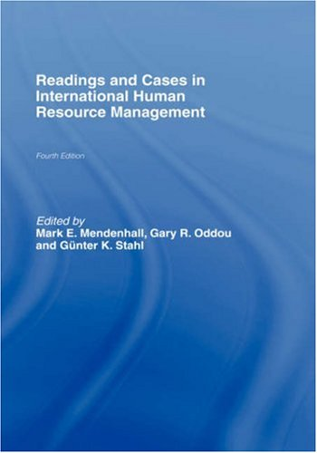 9780415396875: Readings and Cases in International Human Resource Management