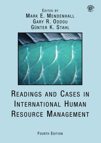 Stock image for Readings and Cases in International Human Resource Management for sale by OwlsBooks