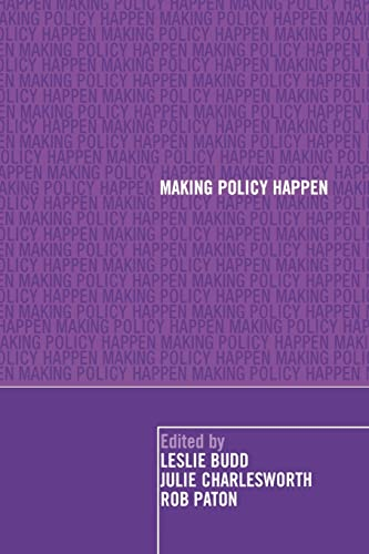 9780415397681: Making Policy Happen