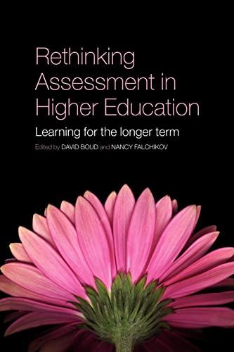 9780415397797: Rethinking Assessment in Higher Education: Learning for the Longer Term