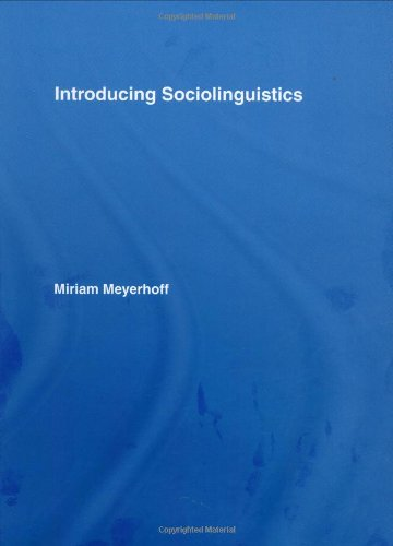 9780415399470: Introducing Sociolinguistics