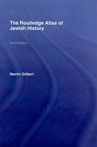 9780415399654: The Routledge Atlas of Jewish History (Routledge Historical Atlases)