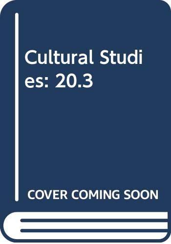 9780415400893: Cultural Studies: 20.3