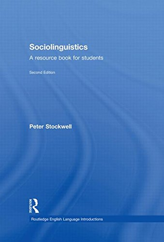 9780415401265: Sociolinguistics: A Resource Book for Students (Routledge English Language Introductions)
