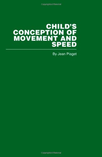 9780415402224: Child's Conception of Movement and Speed