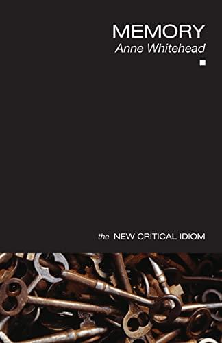 9780415402736: Memory (The New Critical Idiom)