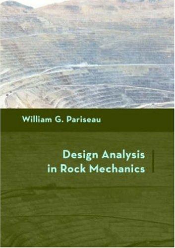 9780415403573: Design Analysis in Rock Mechanics