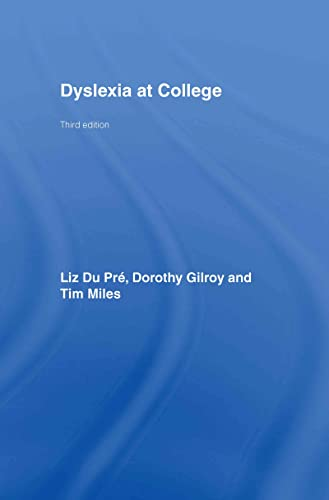 9780415404174: Dyslexia at College