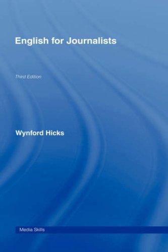 9780415404198: English for Journalists (Media Skills)