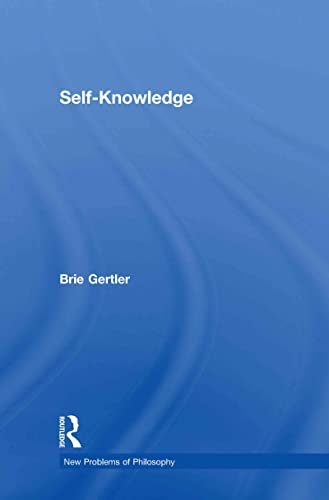 9780415405256: Self-Knowledge (New Problems of Philosophy)
