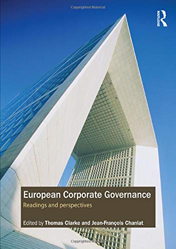 9780415405331: European Corporate Governance: Readings and Perspectives