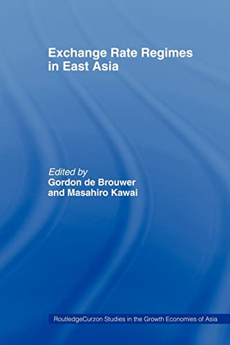 9780415405898: Exchange Rate Regimes in East Asia (Routledge Studies in the Growth Economies of Asia)