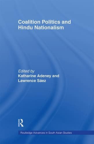 9780415406000: Coalition Politics and Hindu Nationalism