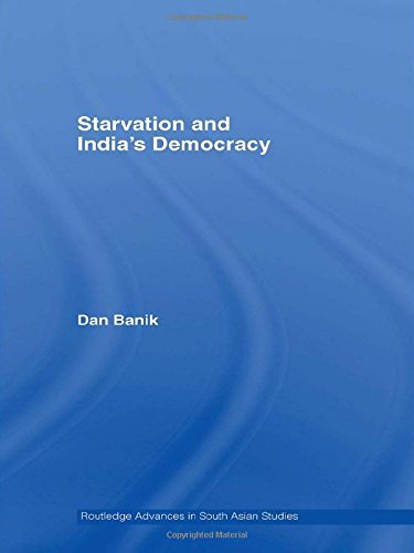 9780415407298: Starvation and India's Democracy (Routledge Advances in South Asian Studies)