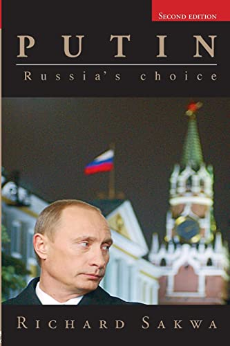 9780415407663: Putin: Russia's Choice
