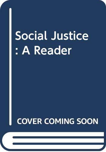9780415408370: Social Justice: A Reader