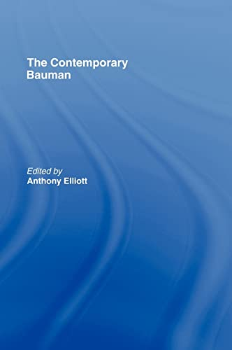 9780415409698: The Contemporary Bauman