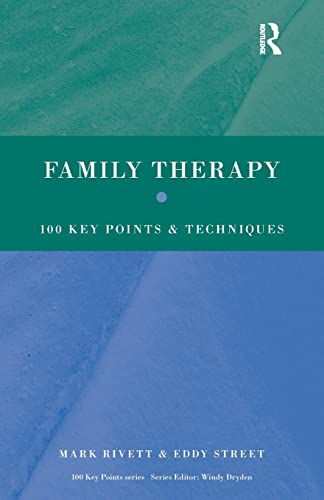9780415410397: Family Therapy: 100 Key Points and Techniques