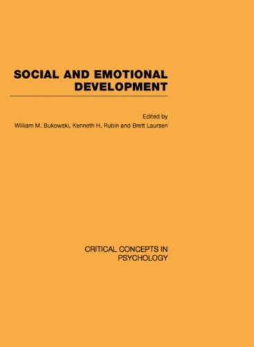 9780415412025: Social and Emotional Development (Critical Concepts in Psychology)