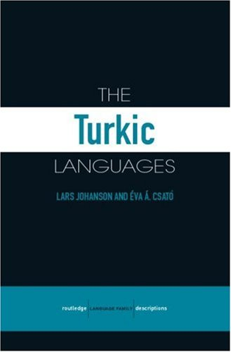 9780415412612: The Turkic Languages (Routledge Language Family Series)