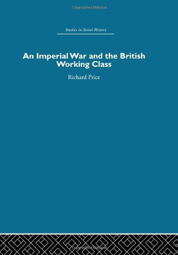 An Imperial War and the British Working: PRICE, RICHARD.