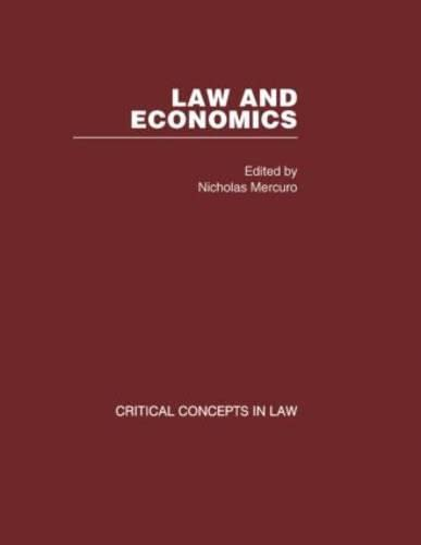 9780415413459: Law and Economics
