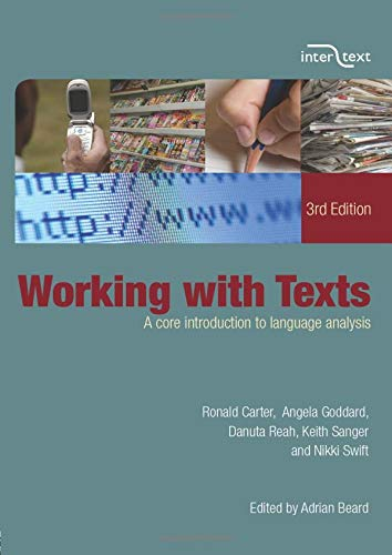 9780415414241: Working with Texts: A Core Introduction to Language Analysis
