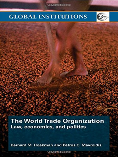 9780415414586: World Trade Organization (WTO): Law, Economics, and Politics (Global Institutions)