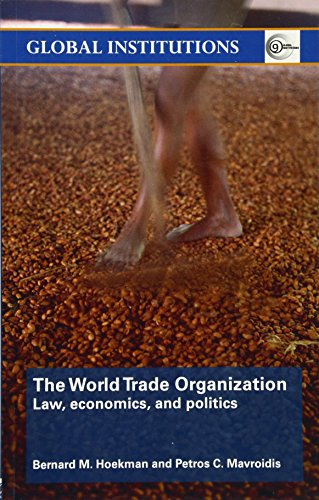 9780415414593: World Trade Organization (WTO): Law, Economics, and Politics (Global Institutions)