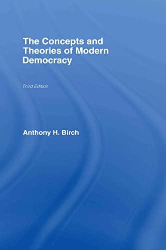 9780415414623: The Concepts and Theories of Modern Democracy