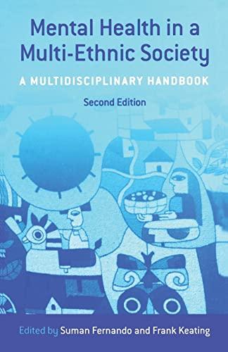 9780415414876: Mental Health in a Multi-Ethnic Society: A Multidisciplinary Handbook