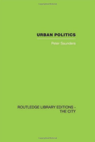 9780415417730: Urban Politics: A Sociological Interpretation