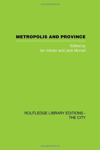 9780415418041: Metropolis and Province: Science in British Culture, 1780 - 1850 (Routledge Library Editions: The City)